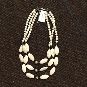 """Silpada """"Act Natural"""" White Howlite Necklace"""